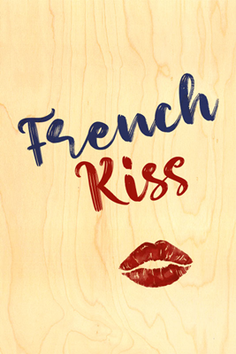 Carte french kiss cval01